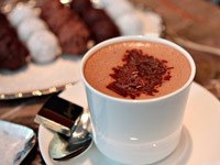 Швейцарский горячий шоколад