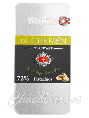 Шоколад Bucheron горький с фисташками 100 гр