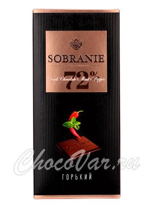Шоколад Sobranie Горький  перец и мята 90 гр