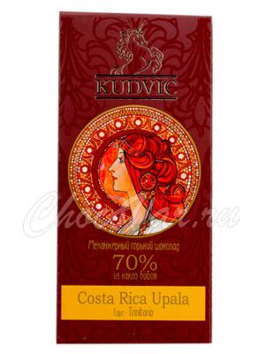 Шоколад Kudvic 70% из какао бобов Costa Rica Upala
