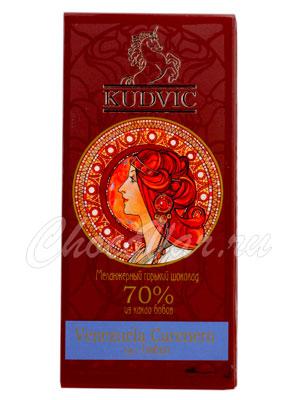 Шоколад Kudvic 70% из какао бобов Venezuela Carenero