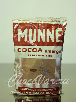 Натуральный какао Munne Amarga, пакет 453,6 гр