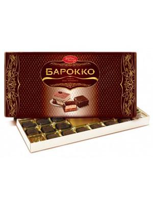 Конфеты Красный Октябрь Барокко вкус тирамису 300 гр