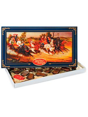 Набор конфет Красный Октябрь Русь-тройка 350 гр