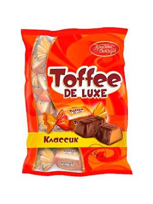 Конфеты Красный Октябрь Toffee de Luxe классик 250 гр