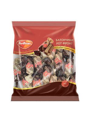 Конфеты Рот Фронт Батончики шоколадно-сливочный вкус 250 гр