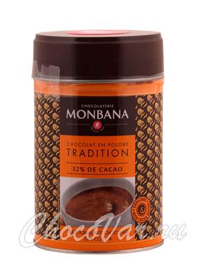 Горячий шоколад Monbana Чайный салон 250 гр ж.б.