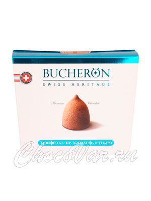 Шоколадные конфеты Bucheron Трюфель с фундуком 175 гр