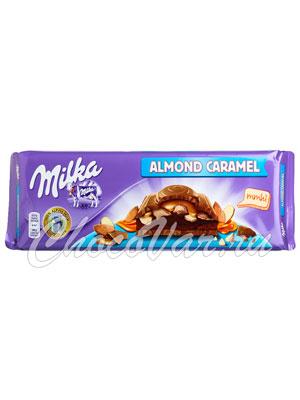 Шоколад Milka Almond Caramel 300 гр
