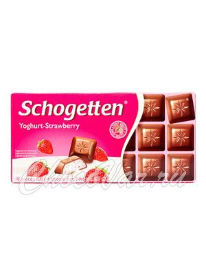 Шоколад Schogetten Yoghurt-Strawberry 100 гр