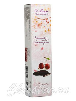 D.Munger Шоколадные лепестки с вишней 100 гр